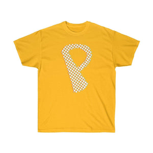 Plumskum T-Shirt Gold / S Checkered, Glitchy, Capital P T-Shirt