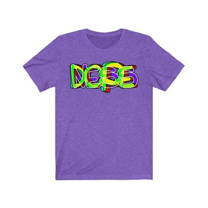 Plumskum T-Shirt Heather Team Purple / XS A Dope T-shirt by Plumskum