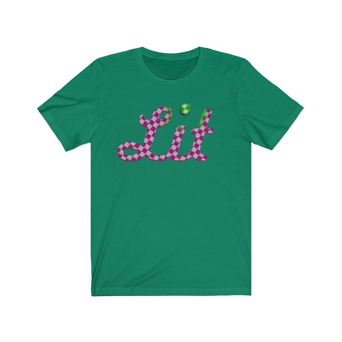 Plumskum T-Shirt Kelly / S Pink Checkered Lit T-shirt