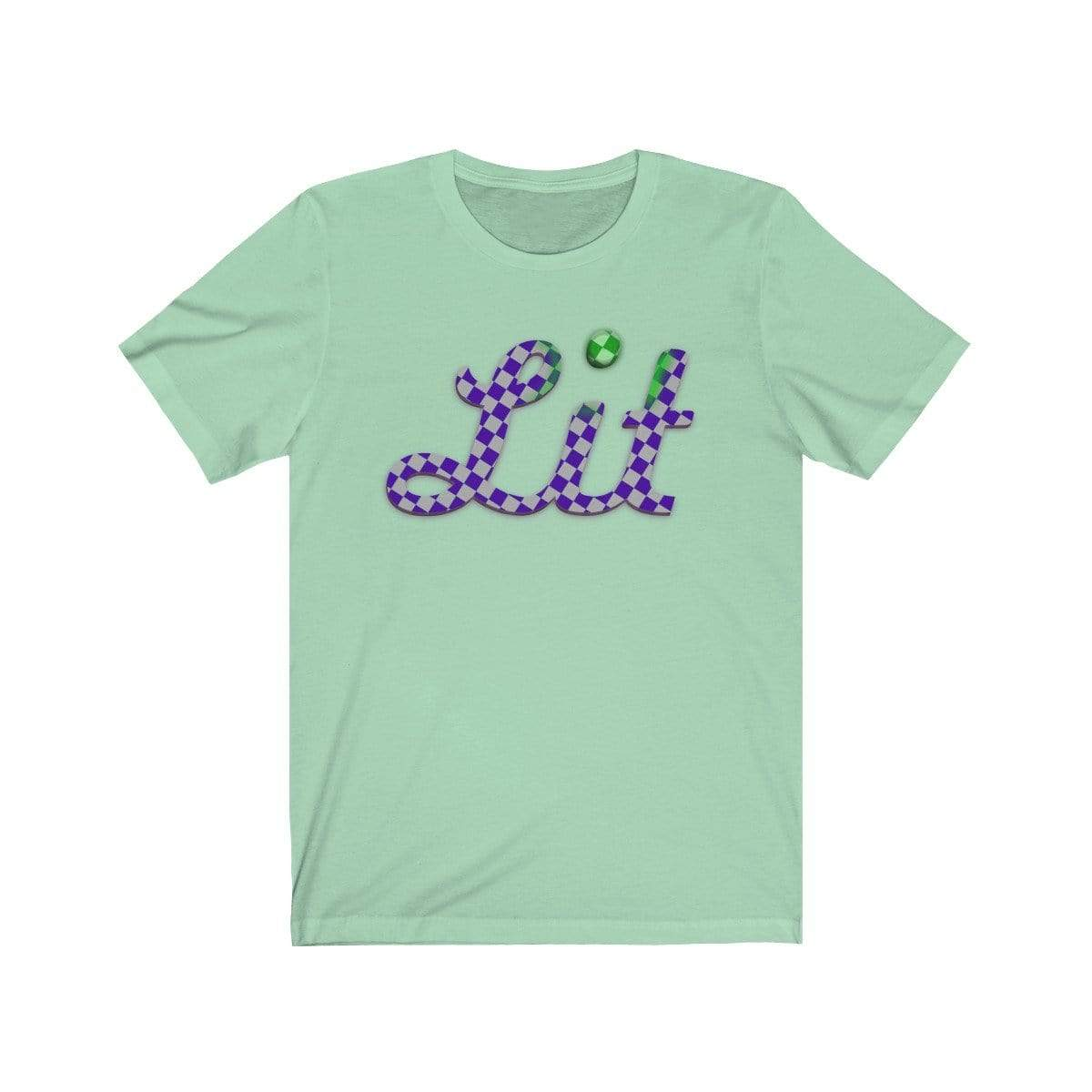 Plumskum T-Shirt Mint / S Checkered Lit T-shirt