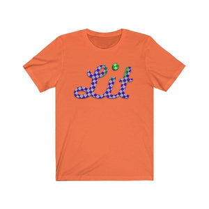 Plumskum T-Shirt Orange / S Checkered Lit T-shirt