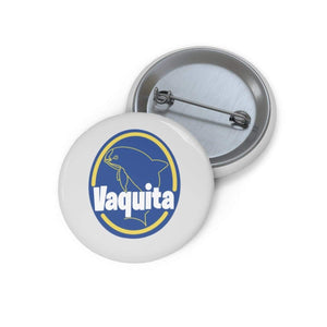 "Printify Accessories 1"" Vaquita Sticker Pin Buttons"