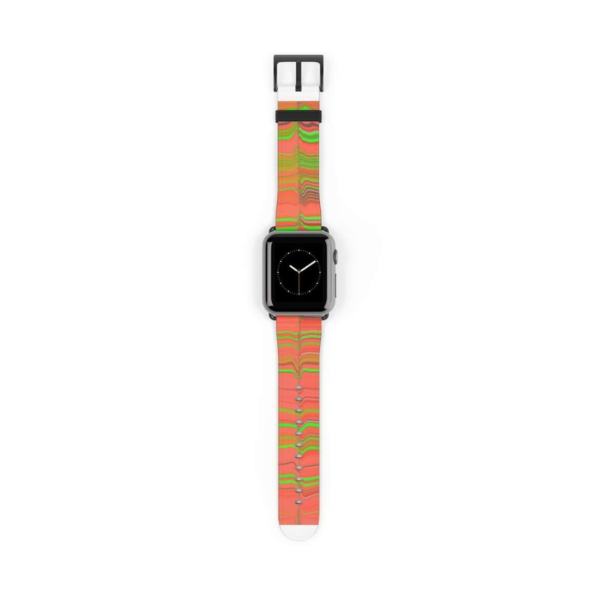 Printify Accessories 38 mm / Black Matte Plumskum Glitch Aesthetic Apple Watch Band