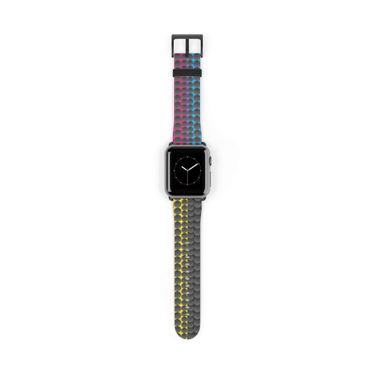 Printify Accessories 38 mm / Black Matte Plumskum MCYB Dimple Apple Watch Band