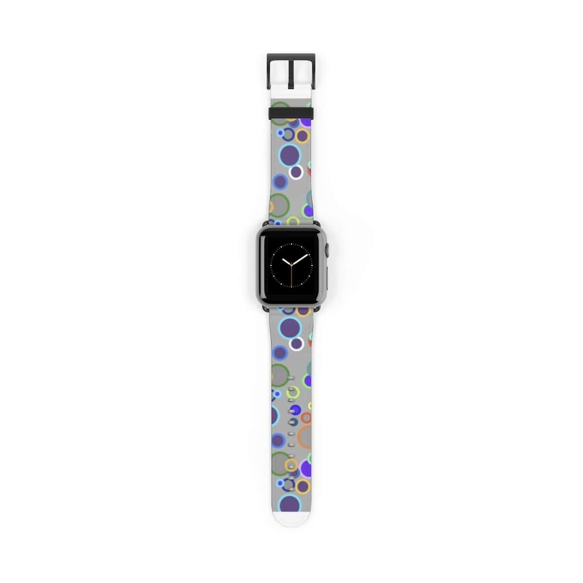 Printify Accessories 38 mm / Black Matte Plumskum Original Pattern Apple Watch Band