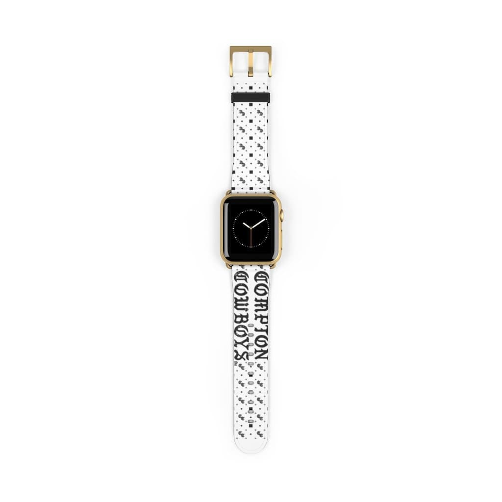 Printify Accessories 38 mm / Gold Matte Compton Cowboys | Neighbor Hood Watch Band