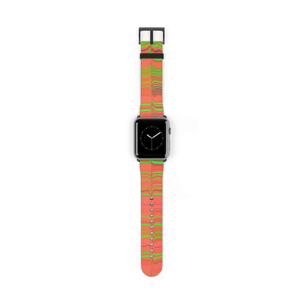 Printify Accessories 42 mm / Black Matte Plumskum Glitch Aesthetic Apple Watch Band