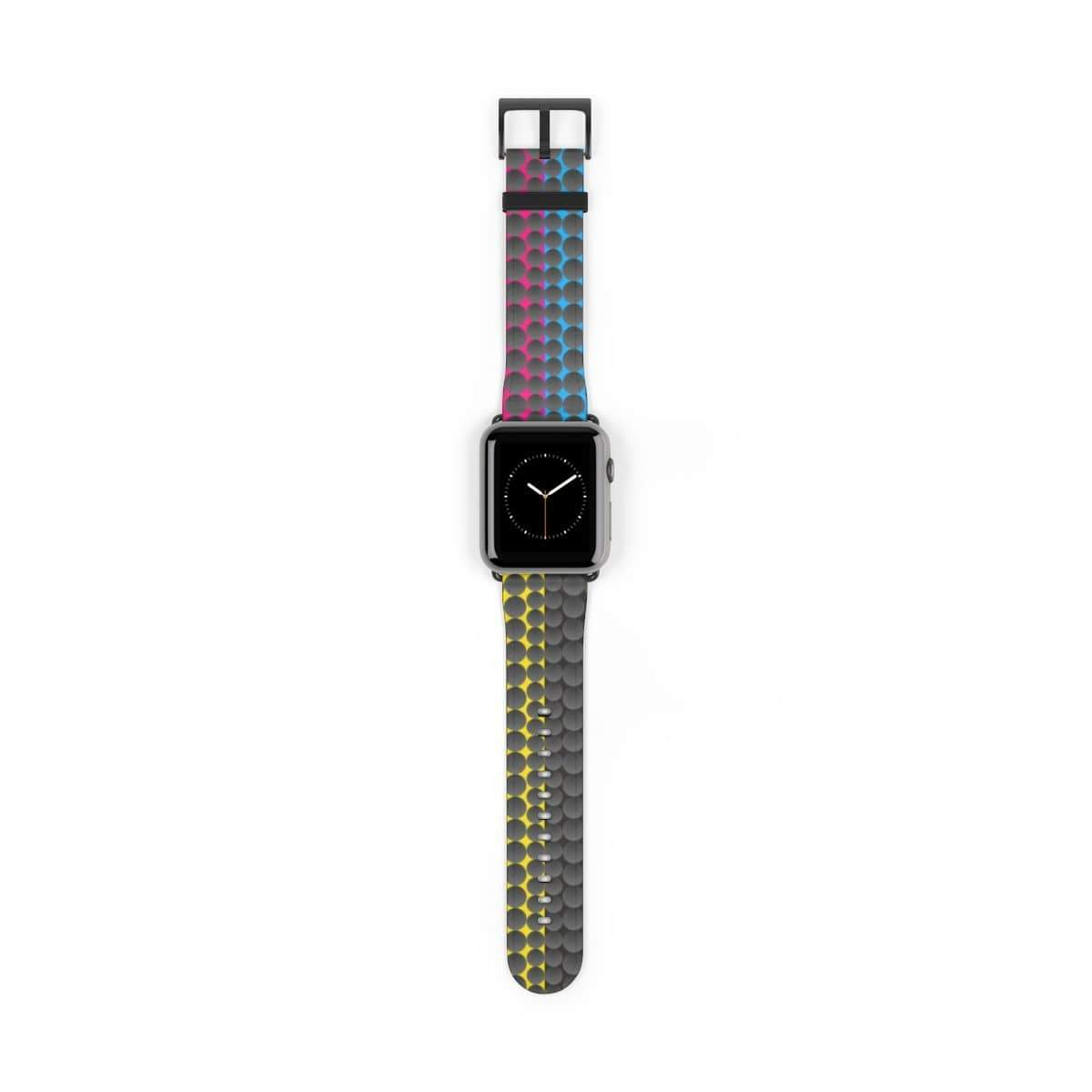 Printify Accessories 42 mm / Black Matte Plumskum MCYB Dimple Apple Watch Band