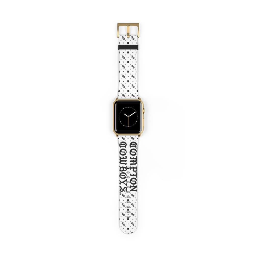 Printify Accessories 42 mm / Gold Matte Compton Cowboys | Neighbor Hood Watch Band