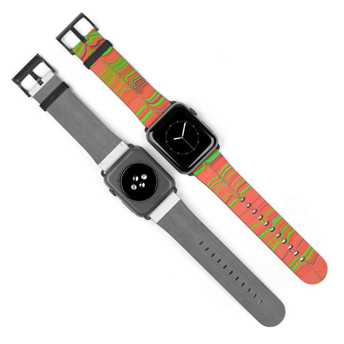 Printify Accessories Plumskum Glitch Aesthetic Apple Watch Band
