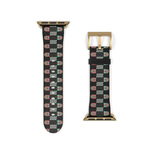 Printify Accessories Skateboard Bandolier Apple Watch Band