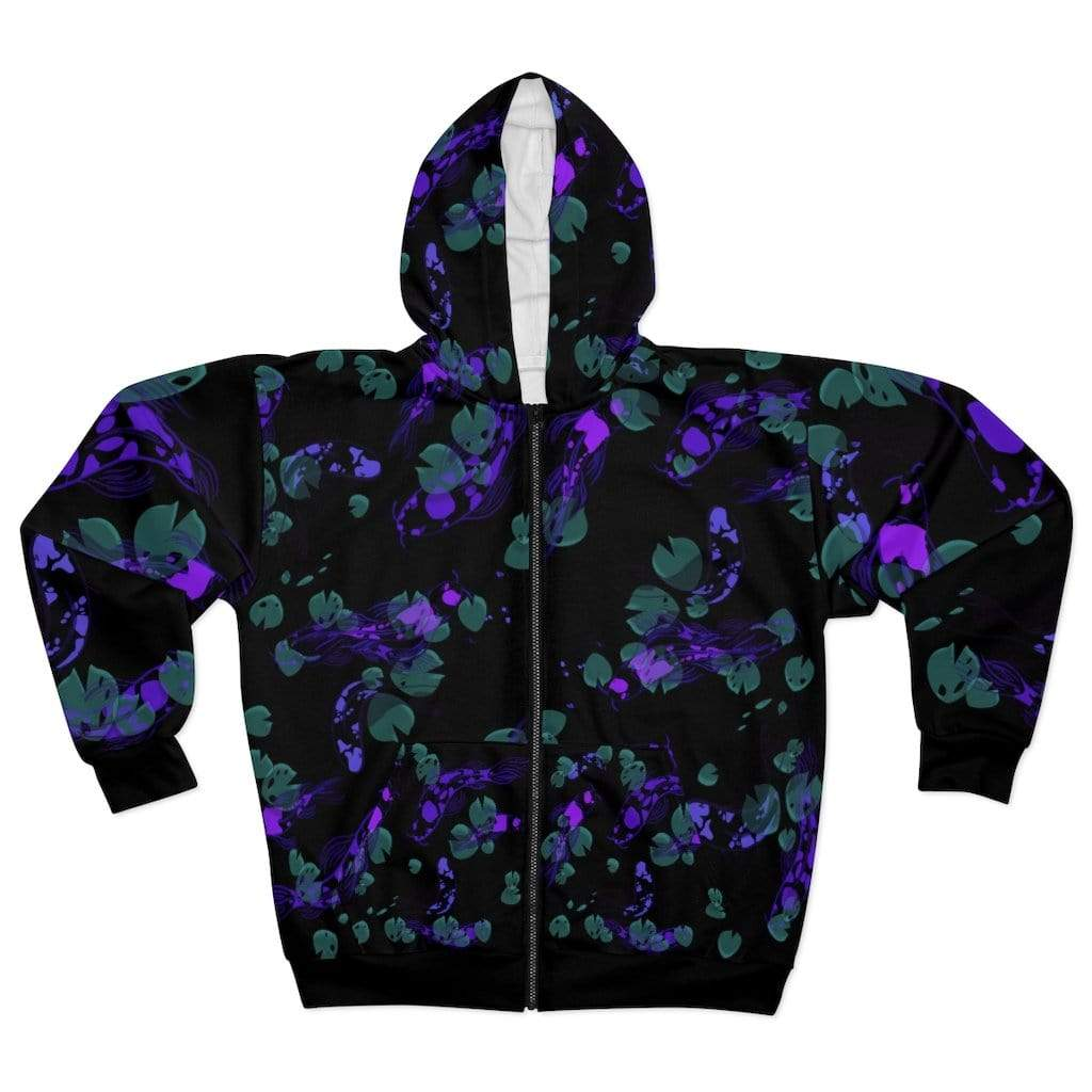 Printify All Over Prints 2XL Plumskum Koi Dream AOP Unisex Zip Hoodie