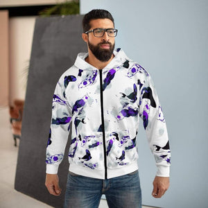 Printify All Over Prints Plumskum Koi Dream AOP Unisex Zip Hoodie