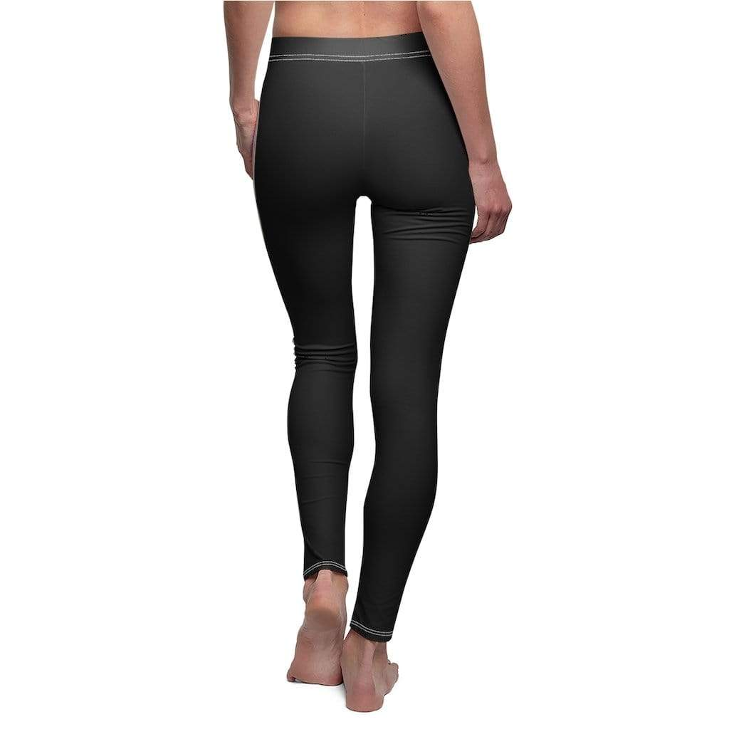 Printify All Over Prints Plumskum Palette Black | Leggings by Plumskum