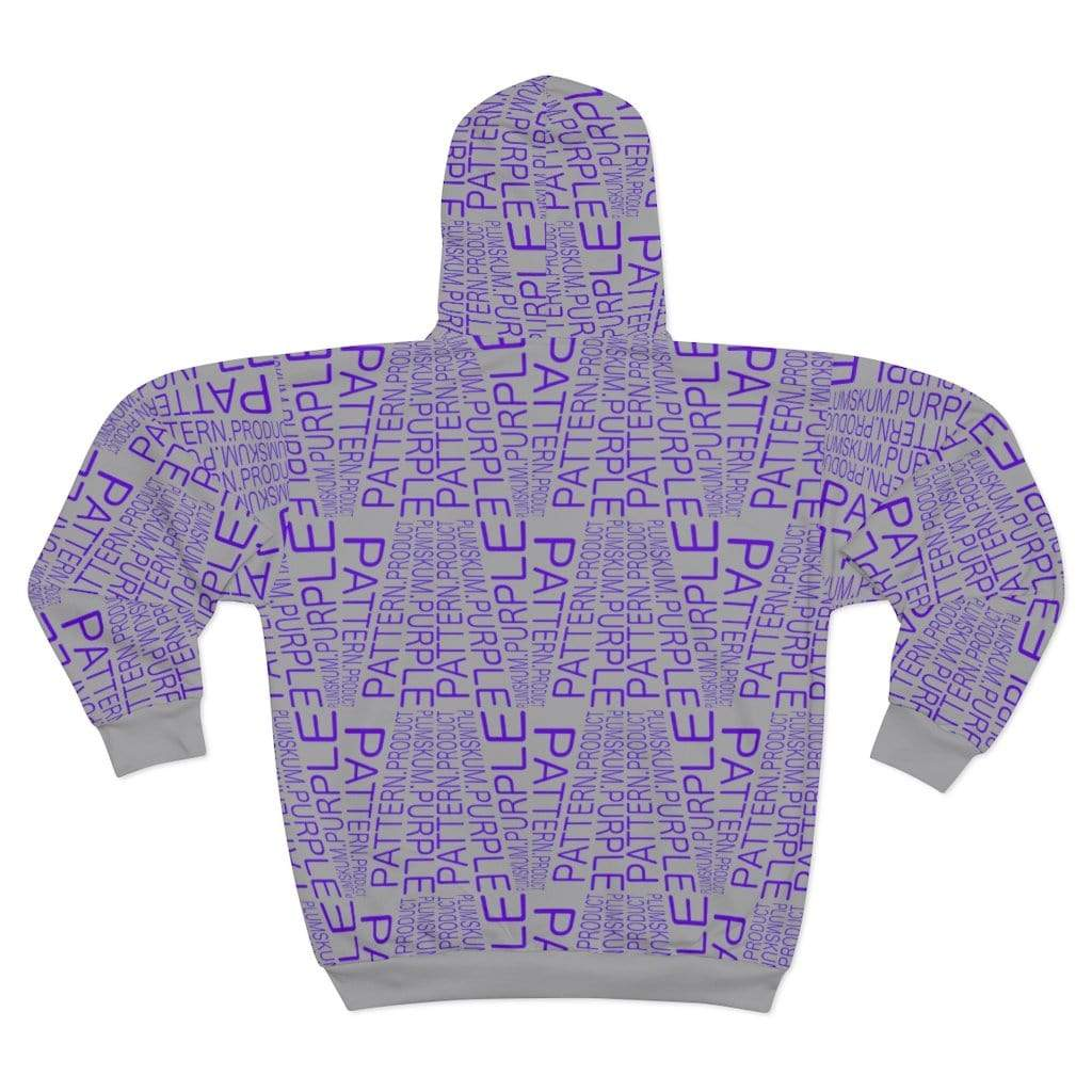 Printify All Over Prints Plumskum | Purple | Pattern | Product | Zip Hoodie