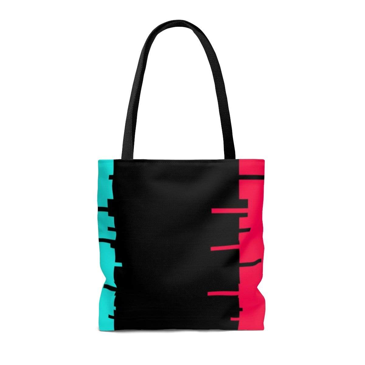 Printify Bags Glitch Aesthetic Tote Bag By Plum