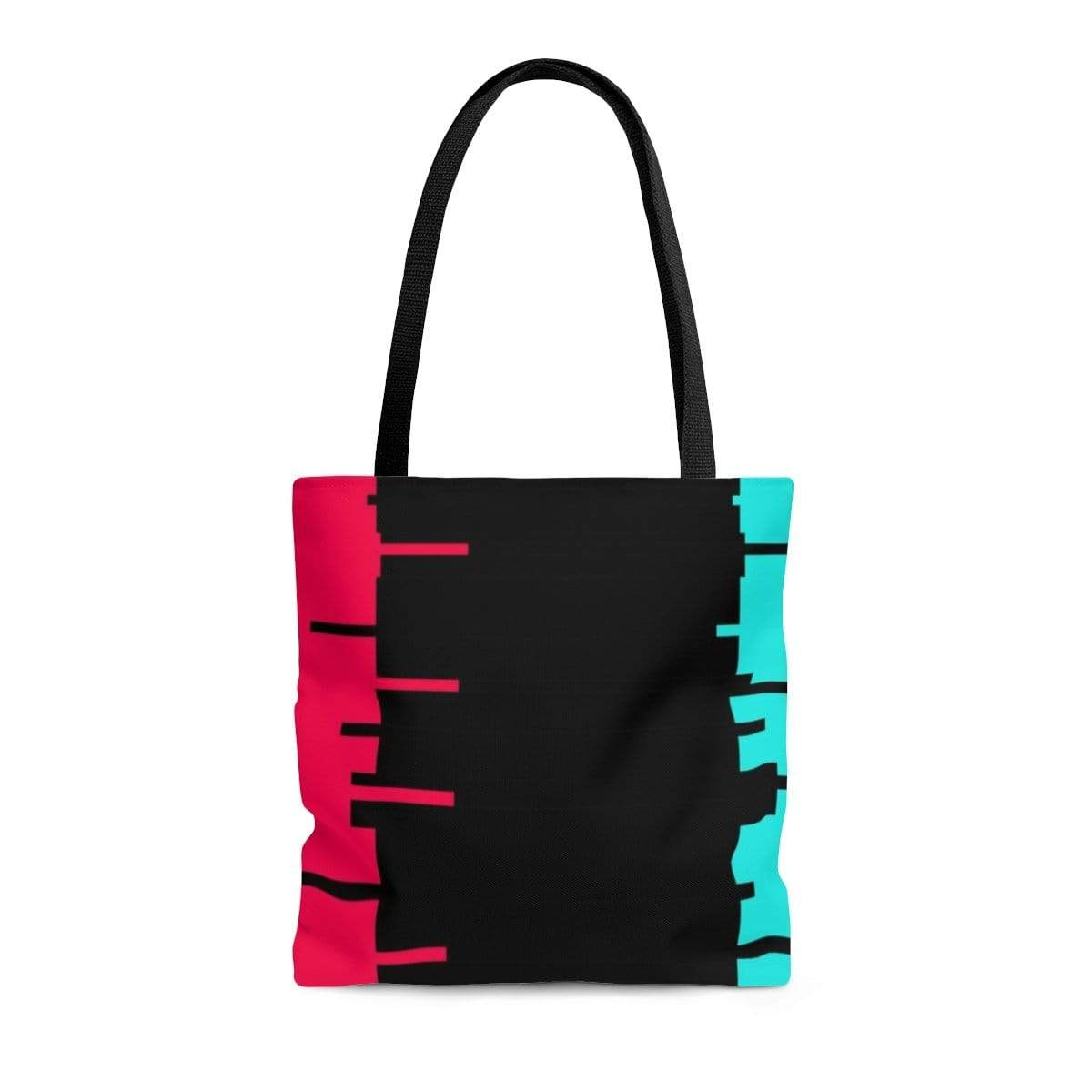Printify Bags Medium Glitch Aesthetic Tote Bag By Plum
