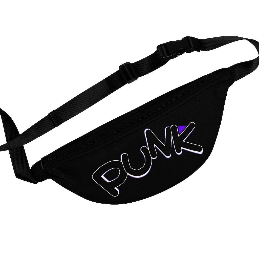 Printify Bags One Size Plumskum Punk Rock Fanny Pack - All Black