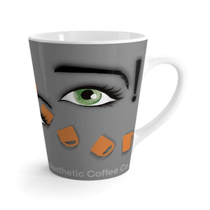 Printify Mug 12oz Coffee-Aesthetic.com - Coffee Awake! Latte mug