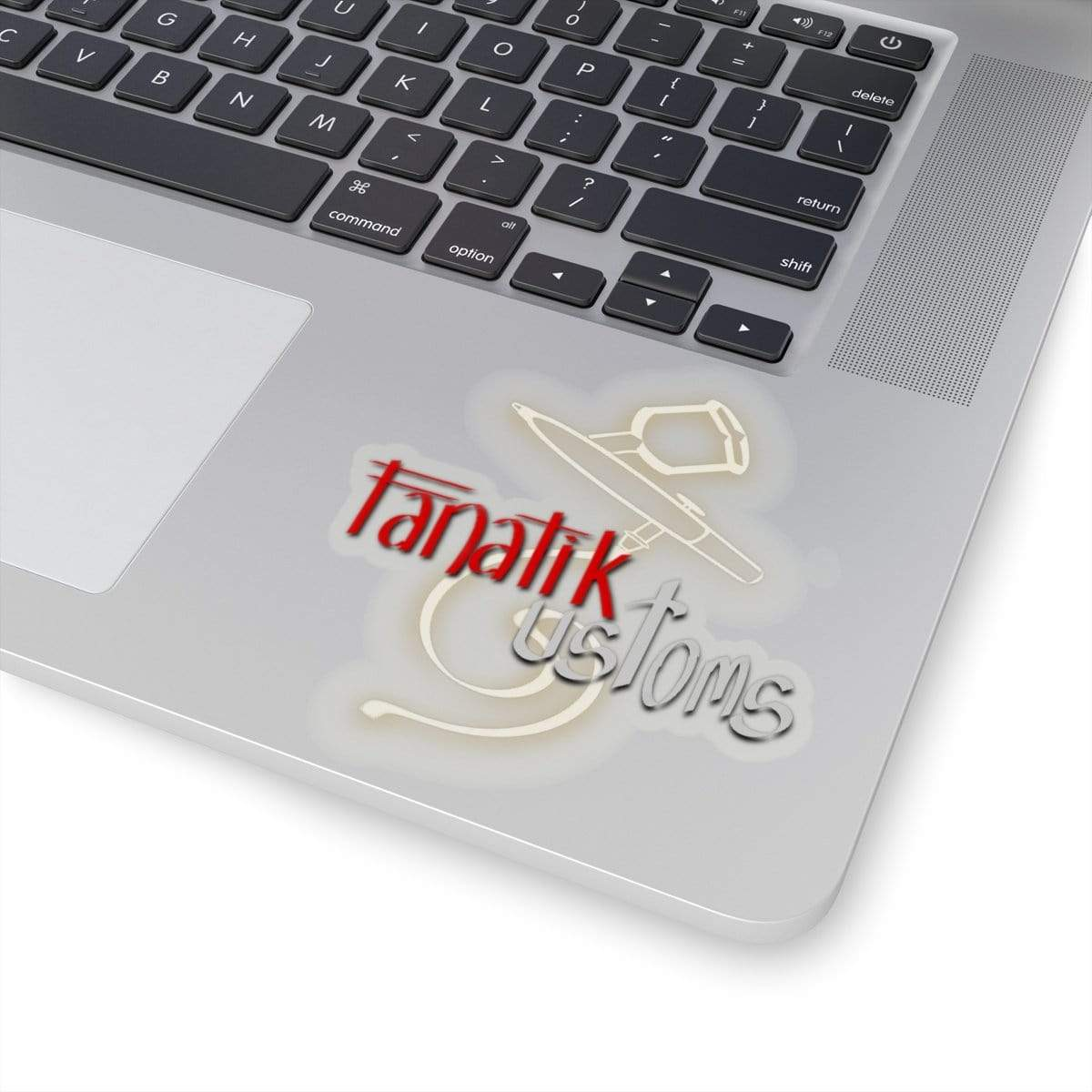 Printify Paper products Fanatik Customs|Kiss-Cut Stickers