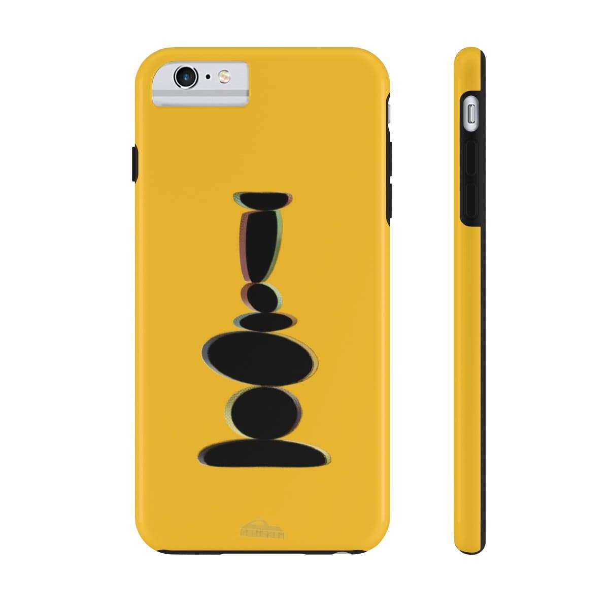 Printify Phone Case iPhone 6/6s Plus Tough Plumskum Zen Balanced Stones Artwork Phone Case