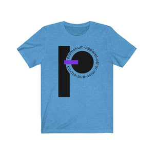 Printify T-Shirt Heather Columbia Blue / XS Plumskum  Etc. Co. TShirt