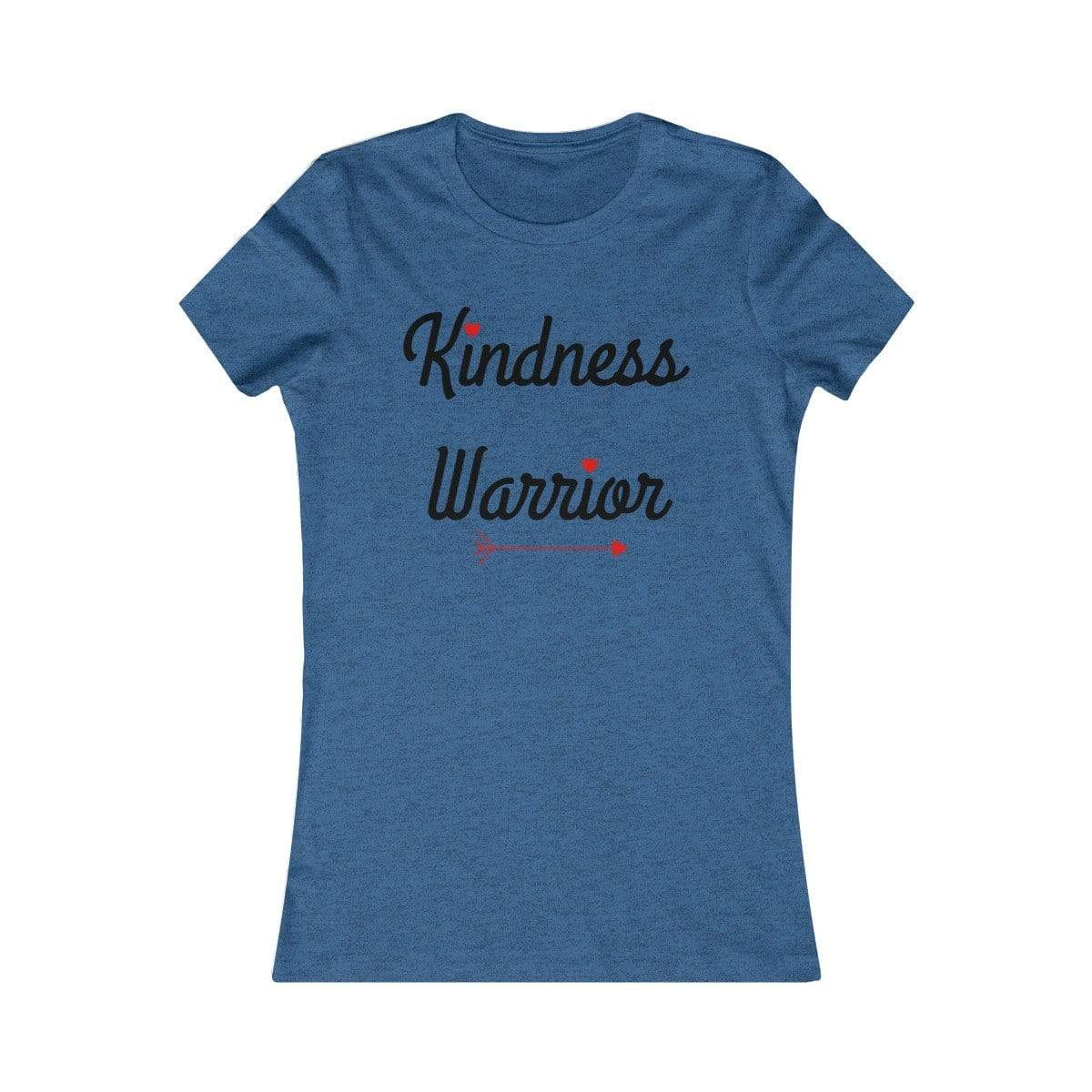 Printify T-Shirt Heather True Royal / S Warrior of Kindness Women's Tee