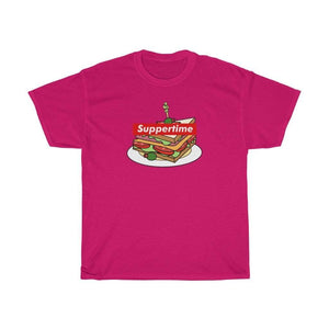 Printify T-Shirt Heliconia / S Sup Sandwich Unisex Heavy Cotton Tee