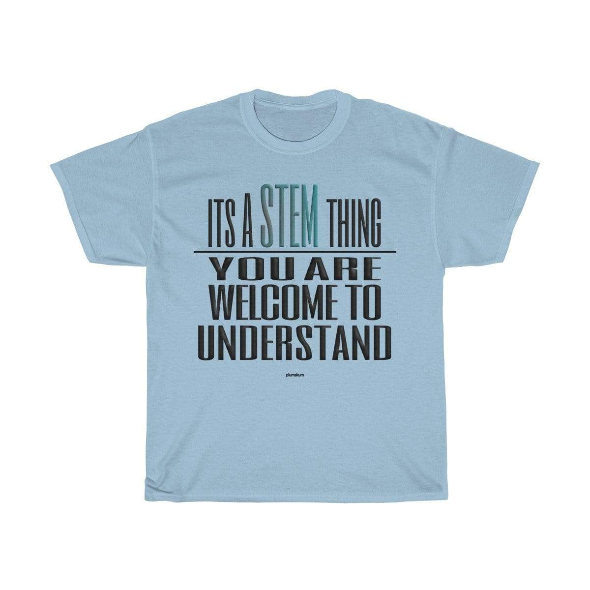 Printify T-Shirt Light Blue / S Understand STEM T-Shirt