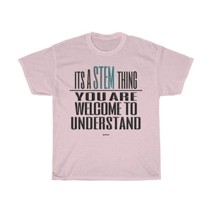 Printify T-Shirt Light Pink / S Understand STEM T-Shirt