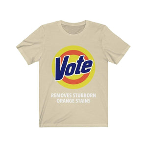 Printify T-Shirt Natural / S VOTE Tee