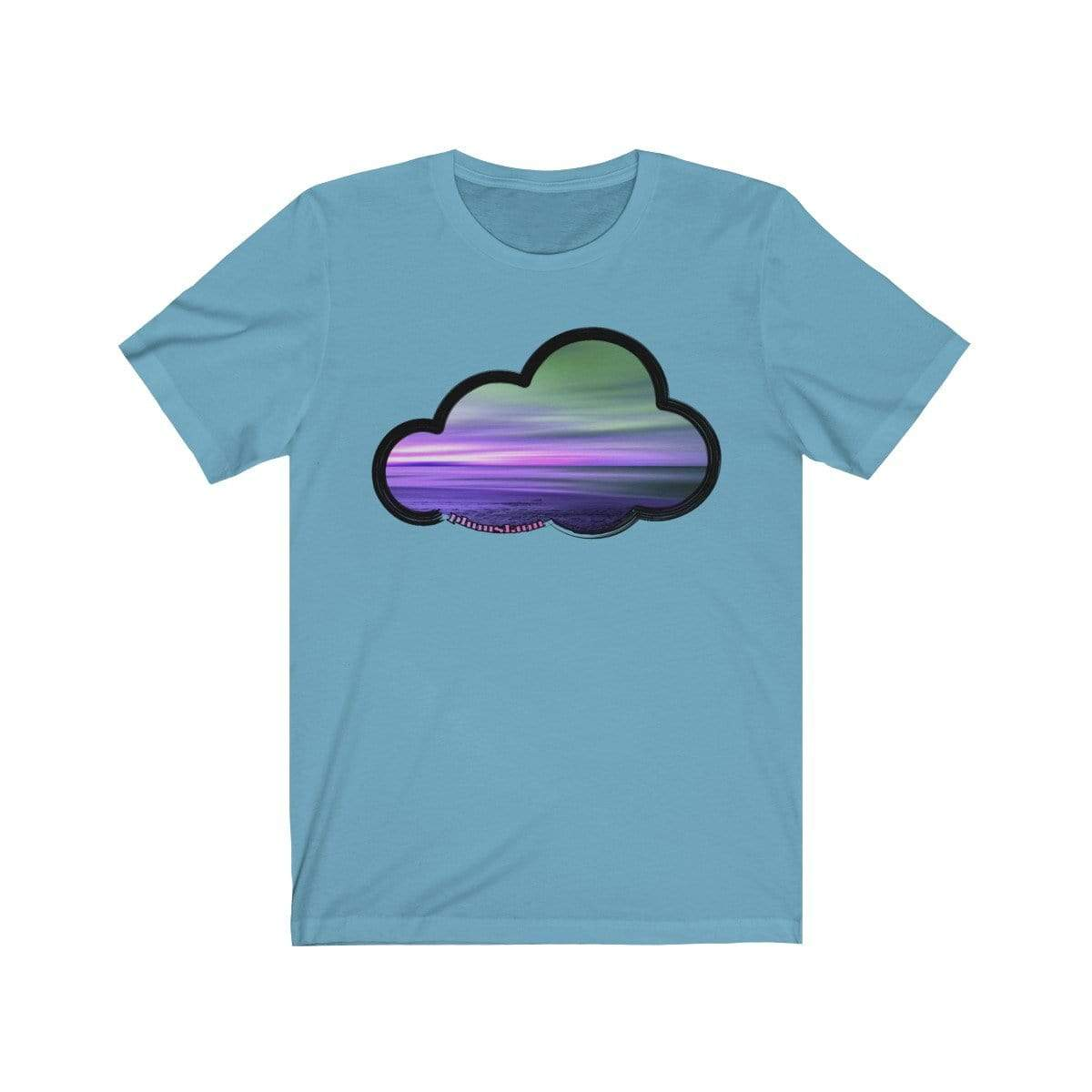 Printify T-Shirt Ocean Blue / M Beaches Art Clouds Tee
