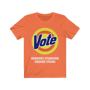 Printify T-Shirt Orange / S VOTE Tee