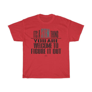 Printify T-Shirt Red / S Figure Out STEM T-Shirt