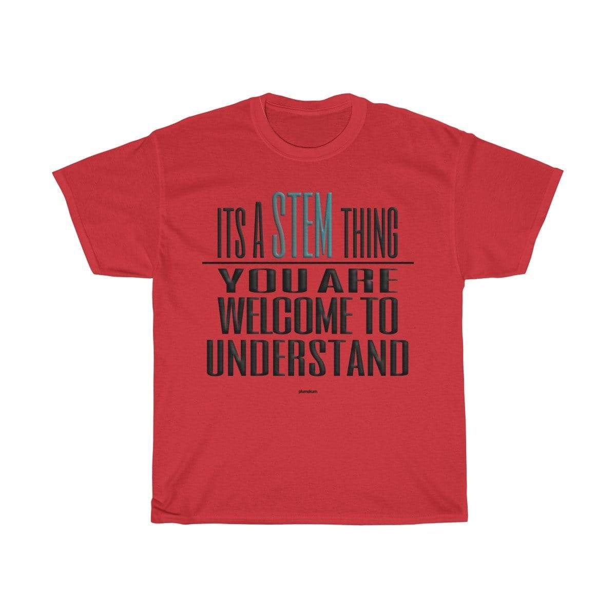 Printify T-Shirt Red / S Understand STEM T-Shirt