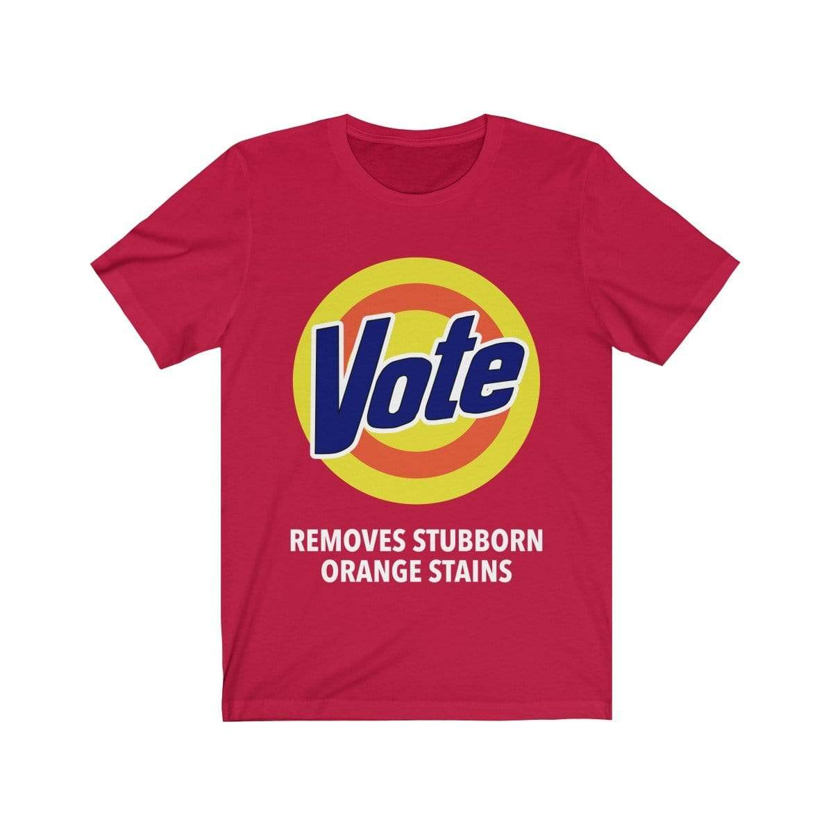 Printify T-Shirt Red / S VOTE Tee