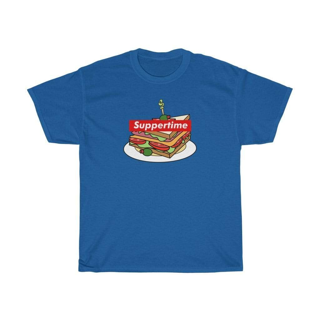 Printify T-Shirt Royal / S Sup Sandwich Unisex Heavy Cotton Tee