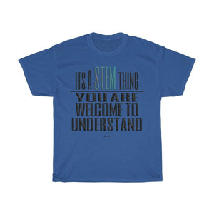 Printify T-Shirt Royal / S Understand STEM T-Shirt