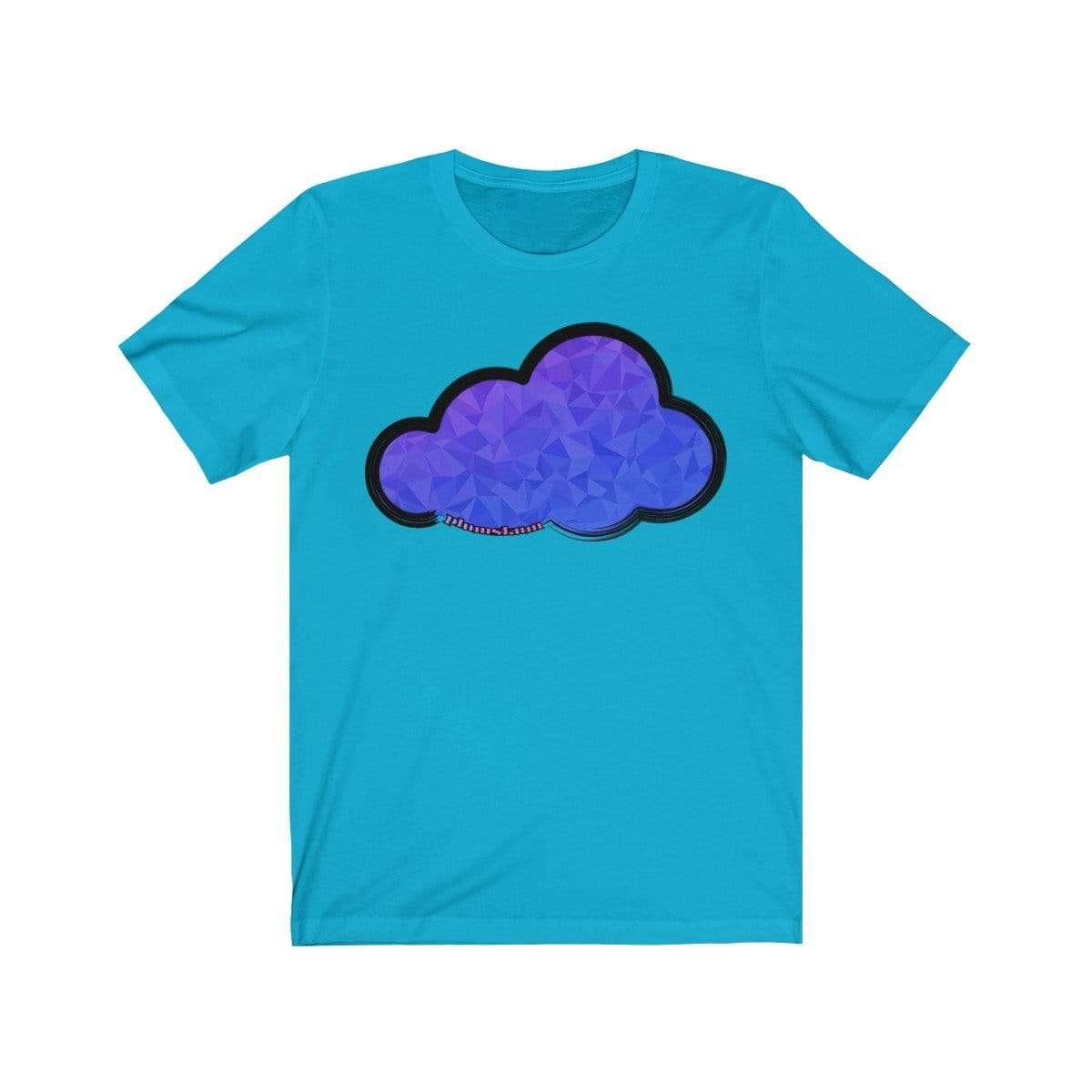 Printify T-Shirt Turquoise / M Plumskum Art Clouds Tee