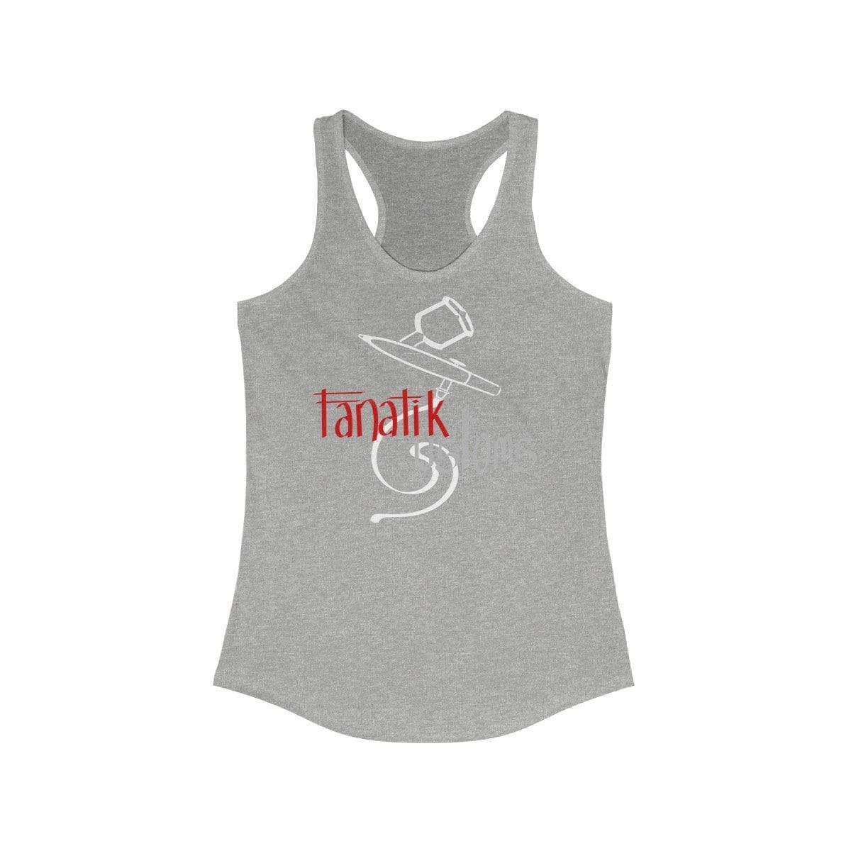 Printify Tank Top Heather Grey / XS Will's Fanatik Customs - Women's Racerback Tank Top