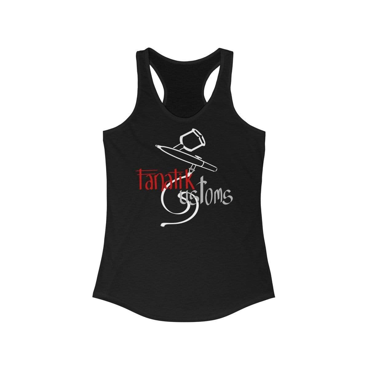 Printify Tank Top Solid Black / L Will's Fanatik Customs - Women's Racerback Tank Top
