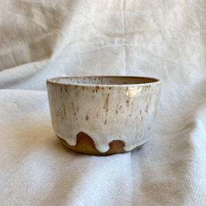 small milky white bowl
