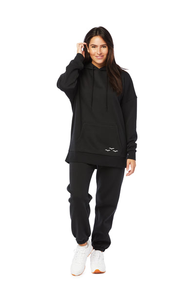 Niki & Cooper fleece set in black from Lazypants - always a great buy at a reasonable price.