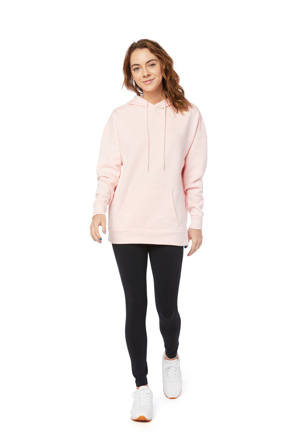 Cooper Ultra Soft Hoodie in Baby Pink from Lazypants - always a great buy at a reasonable price.