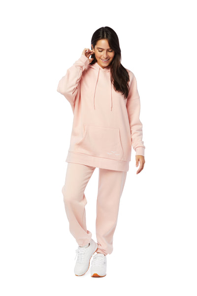 Niki & Cooper fleece set in Strawberry Cream from Lazypants - always a great buy at a reasonable price.