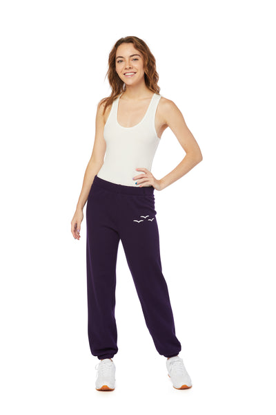 Niki Ultra Soft Sweatpants in Purple from Lazypants - always a great buy at a reasonable price.