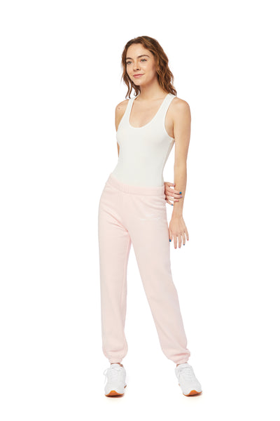 Niki ultra soft sweatpants in baby pink from Lazypants - always a great buy at a reasonable price.
