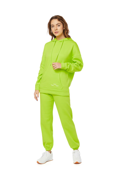Niki & Cooper Ultra Soft Set in Green Fluo from Lazypants - always a great buy at a reasonable price.