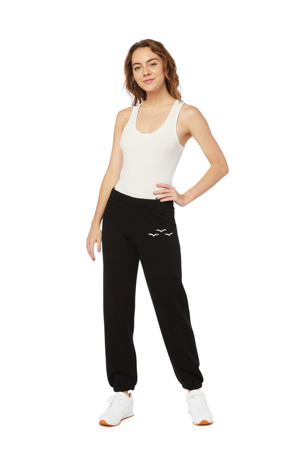 Niki Ultra-Soft Sweatpants in Black from Lazypants - always a great buy at a reasonable price.