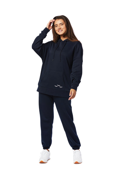 Niki & Cooper fleece set in navy from Lazypants - always a great buy at a reasonable price.